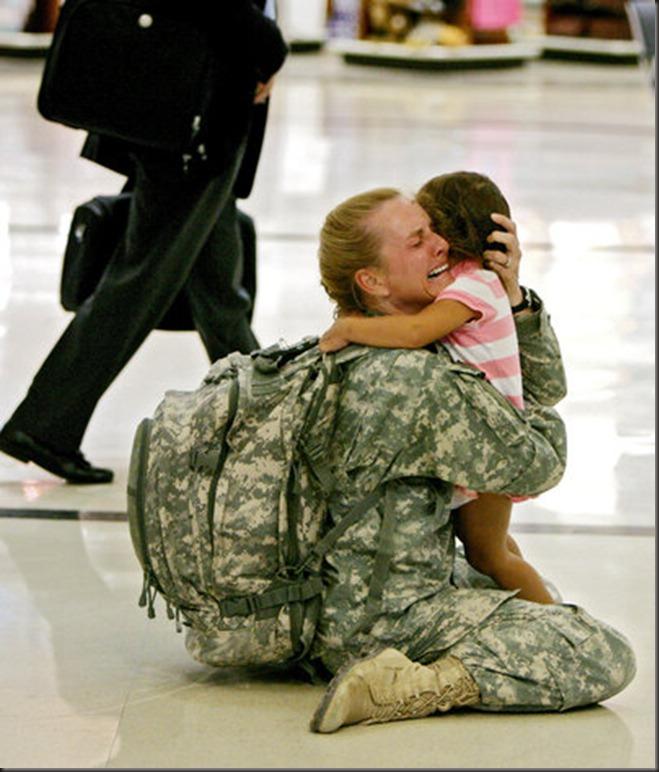 Troops Return