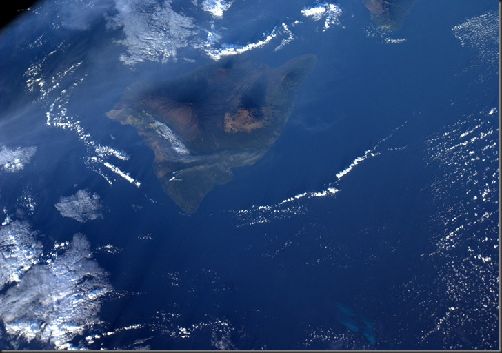 Satellite View of Hawaii - 2010